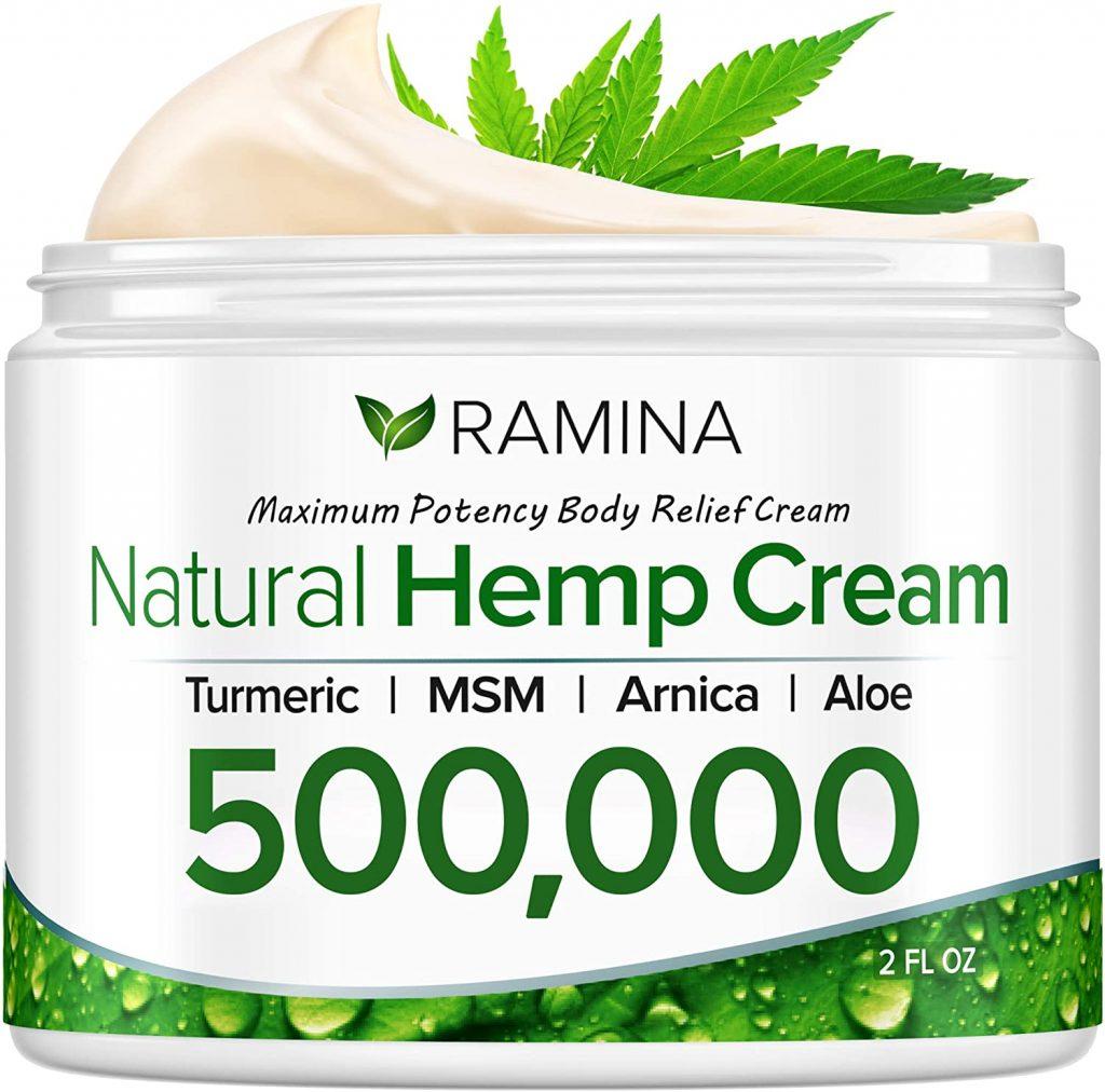 Natural Hemp Extract Pain Relief Cream